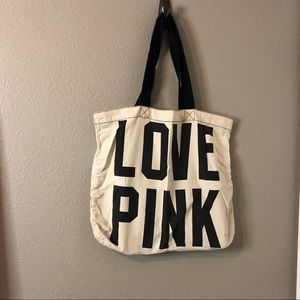 Love Pink Tote